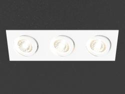 Встраиваемый светодиодный светильник (DL18461_03WW-White SQ Dim)