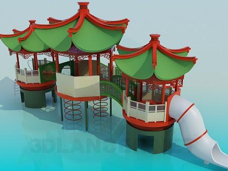 3d model Destkaya site - preview