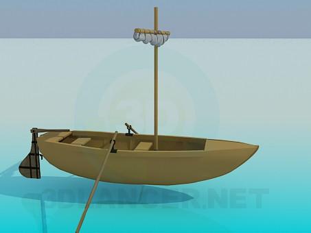 3d modeling Boat model free download