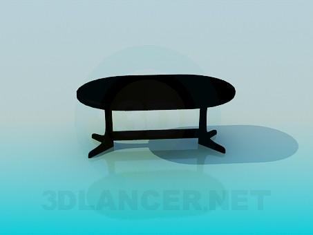 descarga gratuita de 3D modelado modelo Mesa de comedor