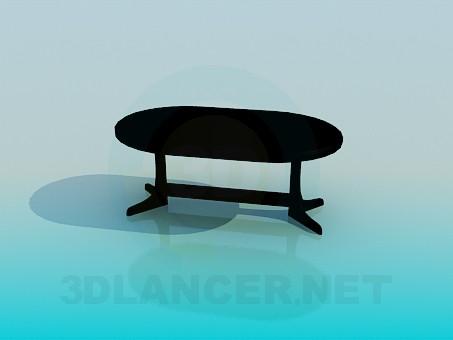 3d модель Обеденный стол – превью