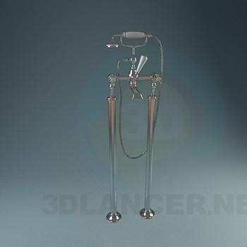 3d модель Классические смесители для ванной – превью