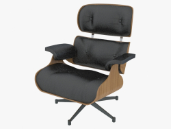 Armchair leather Eames Lounge