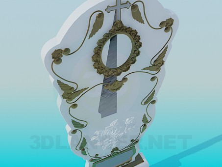 3d model Tombstone - preview