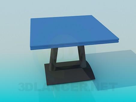 3d модель Стол для кафе – превью