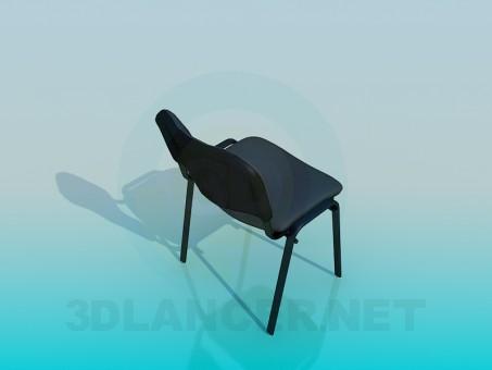 modelo 3D Silla ISO - escuchar