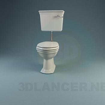 modelo 3D Una colección de clásicos lavabos y bidés - escuchar