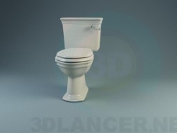 A collection of classic toilets and bidets