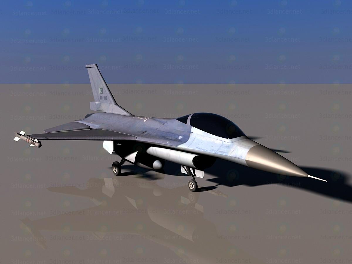 F-16 3d модель купить - рендер