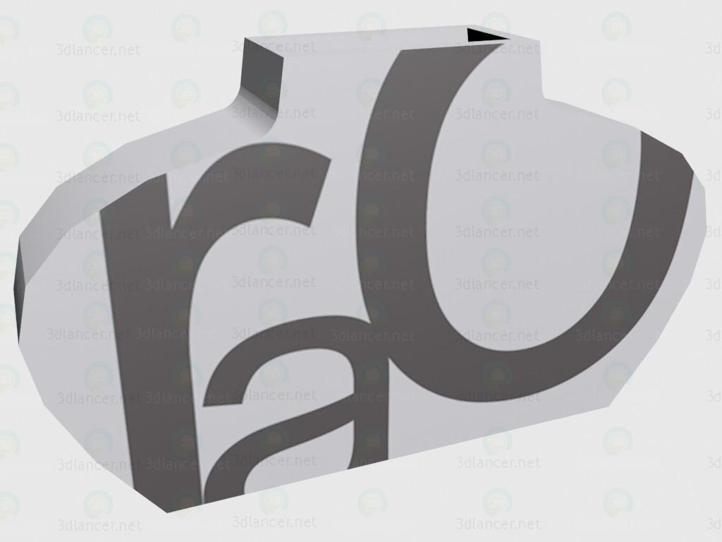 3d model Vase Vogue (d608c0701) - preview