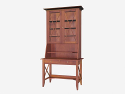 Secretaire with Cabinet CB001