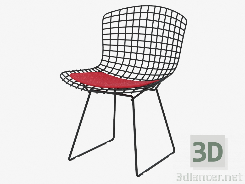 3d модель Стул Bertoia Side – превью
