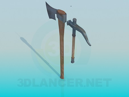 3d model Edged weapons - preview
