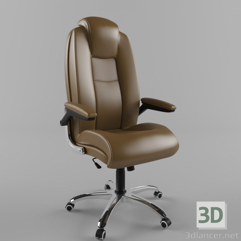 Кресло офисное 3d модель купить - рендер