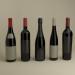 3d French wine bottles model buy - render