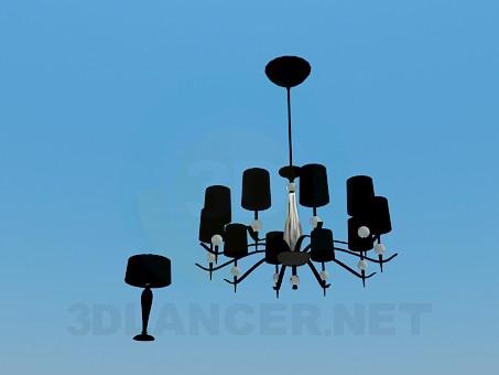 modelo 3D Lámpara, lámpara de mesa - escuchar