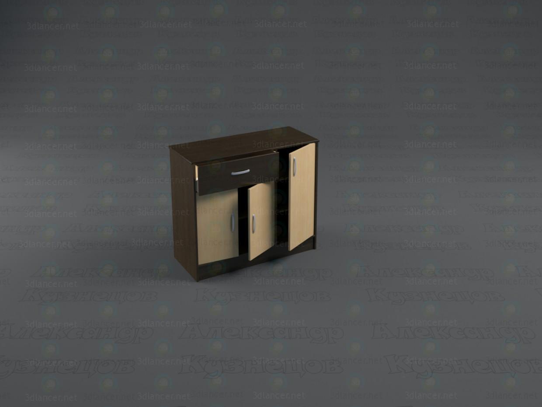 descarga gratuita de 3D modelado modelo Cajonera de Duet 2