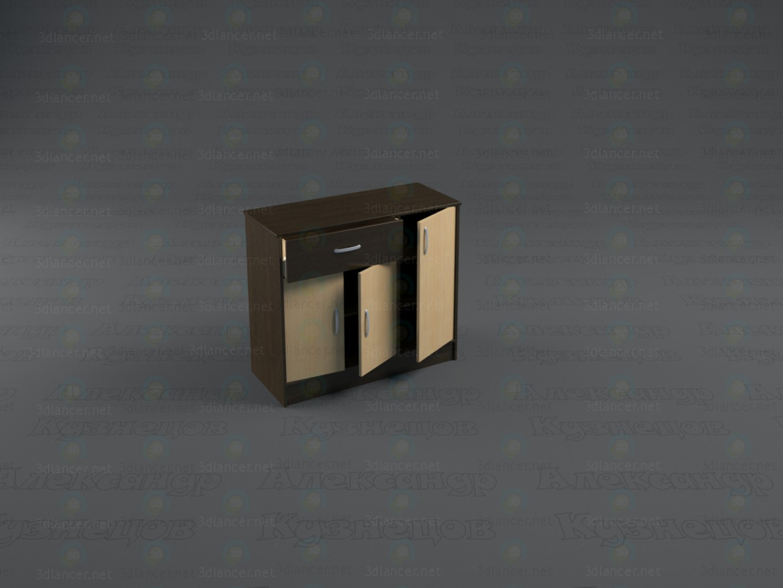 modelo 3D Cajonera de Duet 2 - escuchar