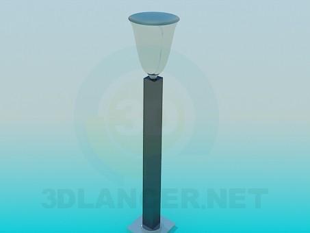 modelo 3D lámparas de calle - escuchar