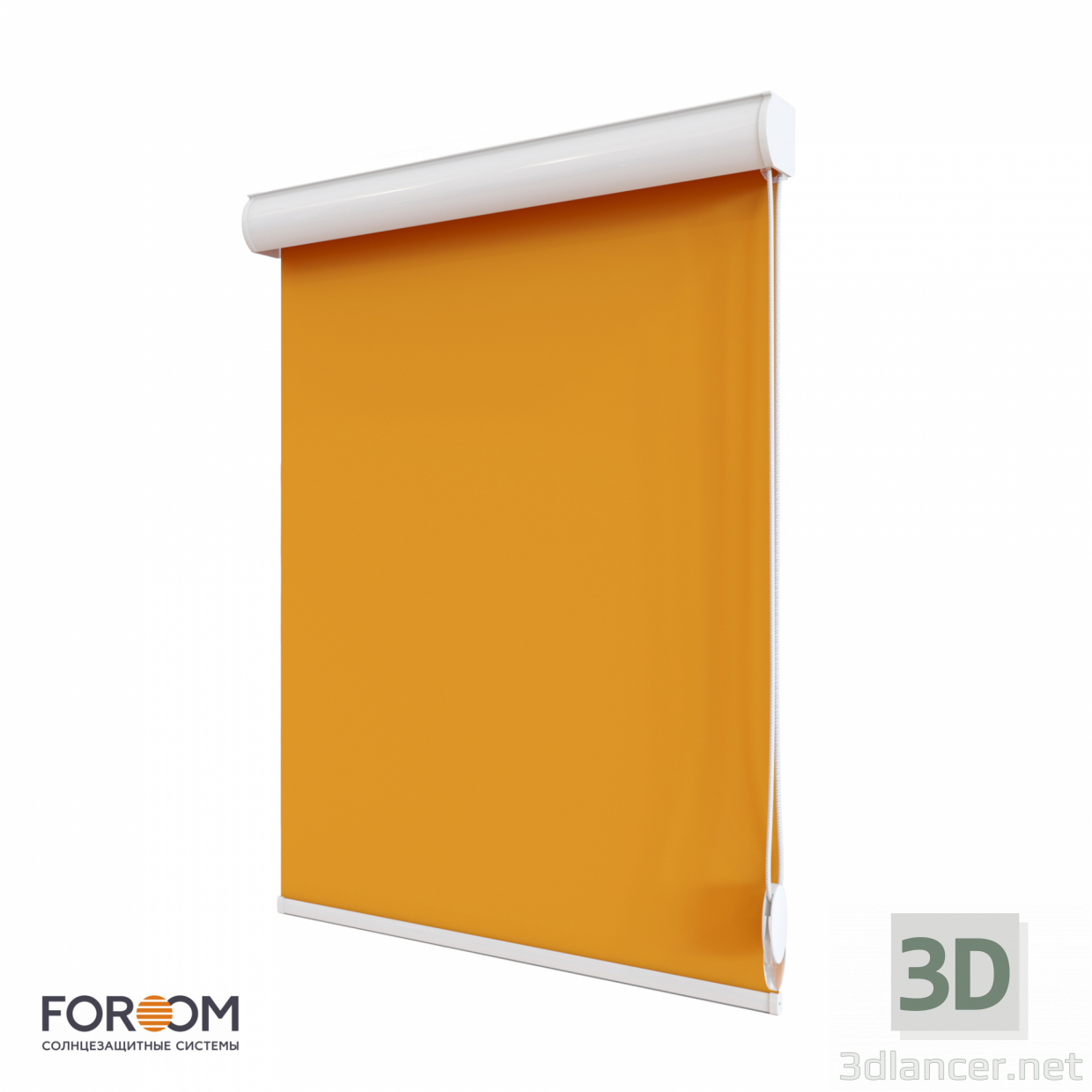 3d model Roller blinds CLIC BOX - preview