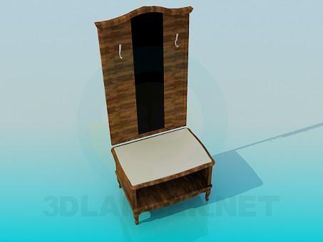 3d model Muebles de entrada - vista previa