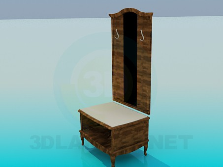 3d model Entryway furniture - preview