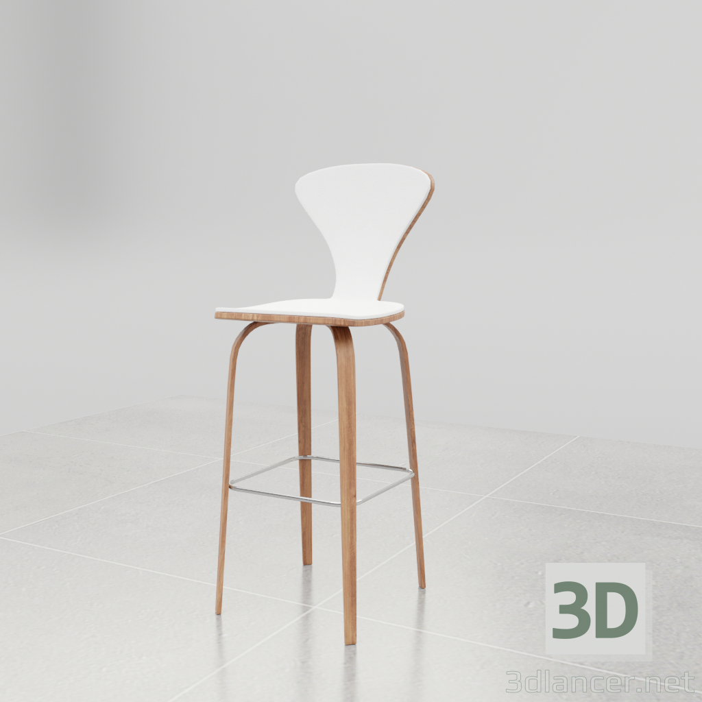 3d model Bar Stool suka-suka - preview