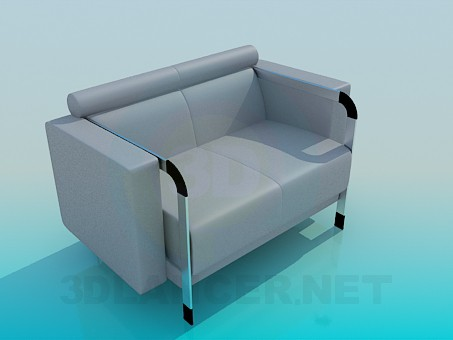 3d modeling Armchair for official premises model free download