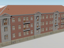 Three-storey building 1-363-13