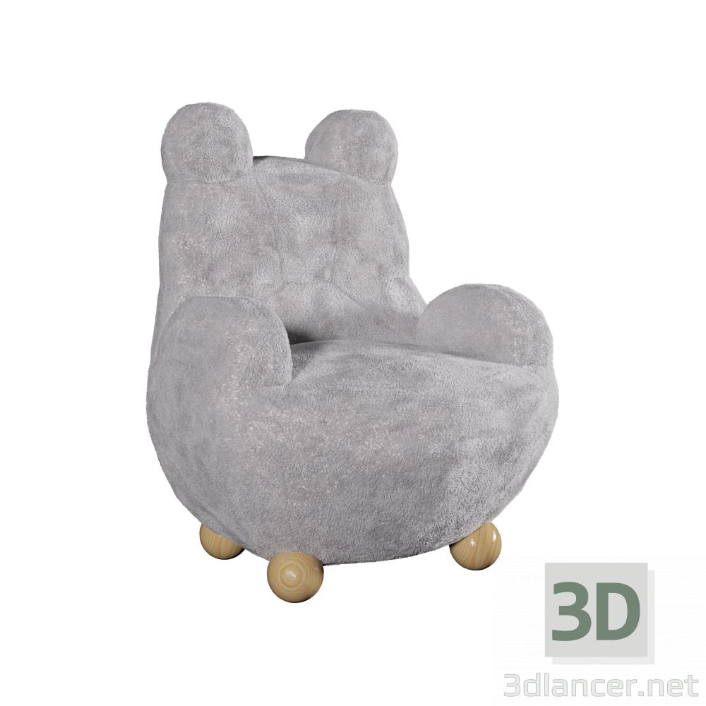 3d Papa bear model buy - render
