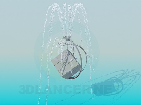 3d modeling Fountain model free download