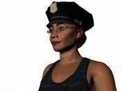 Sarah a cop