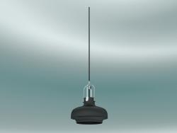 लटकन दीपक कोपेनहेगन (SC6, H20cm H 25cm, मैट ब्लैक)