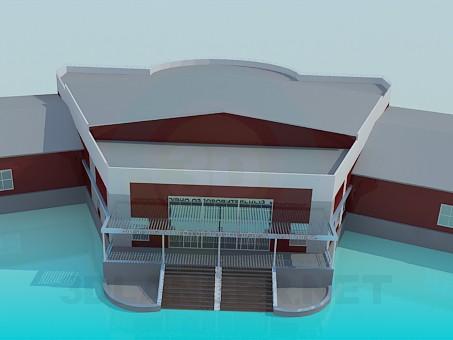 3D modeli Bina - önizleme