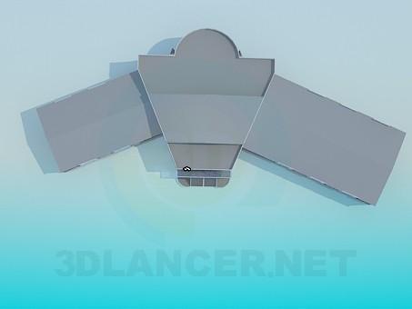 3d модель Здание – превью