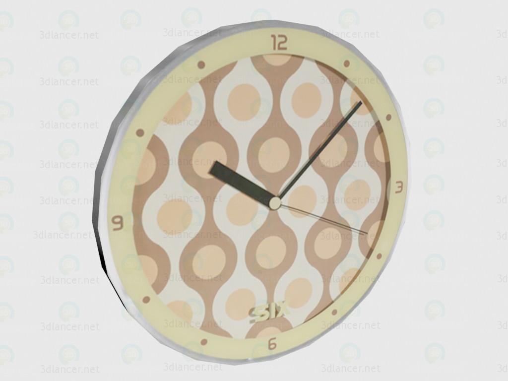 3d model Reloj Elmo - vista previa