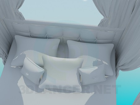 3d model Bed - preview