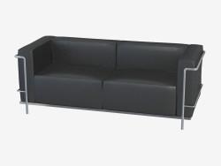 Sofá de cuero