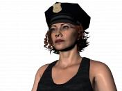 Zoe a cop
