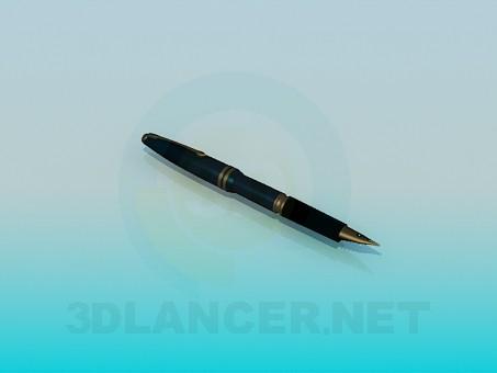3d моделирование Чернильная ручка модель скачать бесплатно