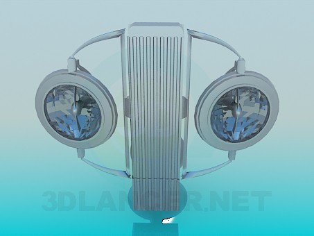 3d model Sconces with halogen lamps - preview