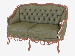 Classic leather sofa (11424)
