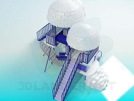 descarga gratuita de 3D modelado modelo El patio de recreo