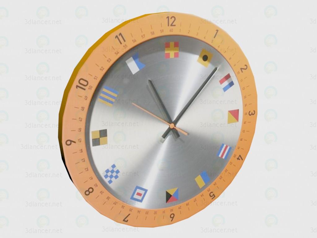 3d model Clokc Orange VOX - preview