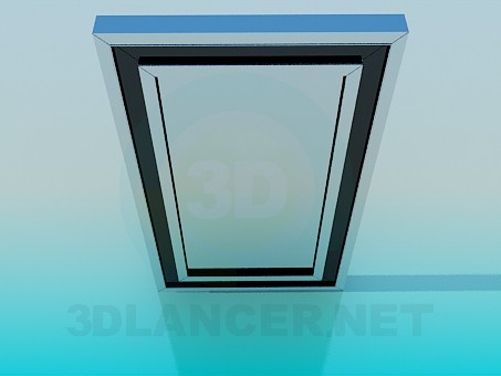 3d model Wall mirror - preview