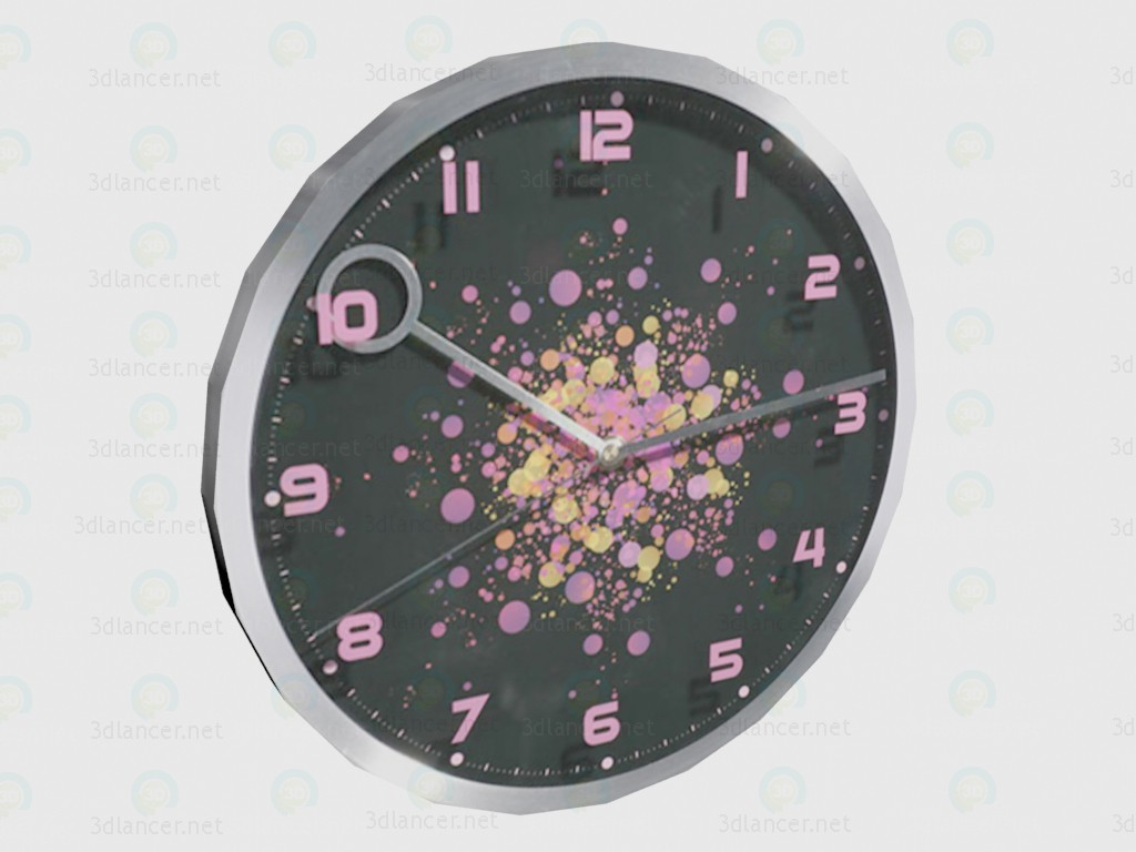 3d model Clock Pinky VOX - preview