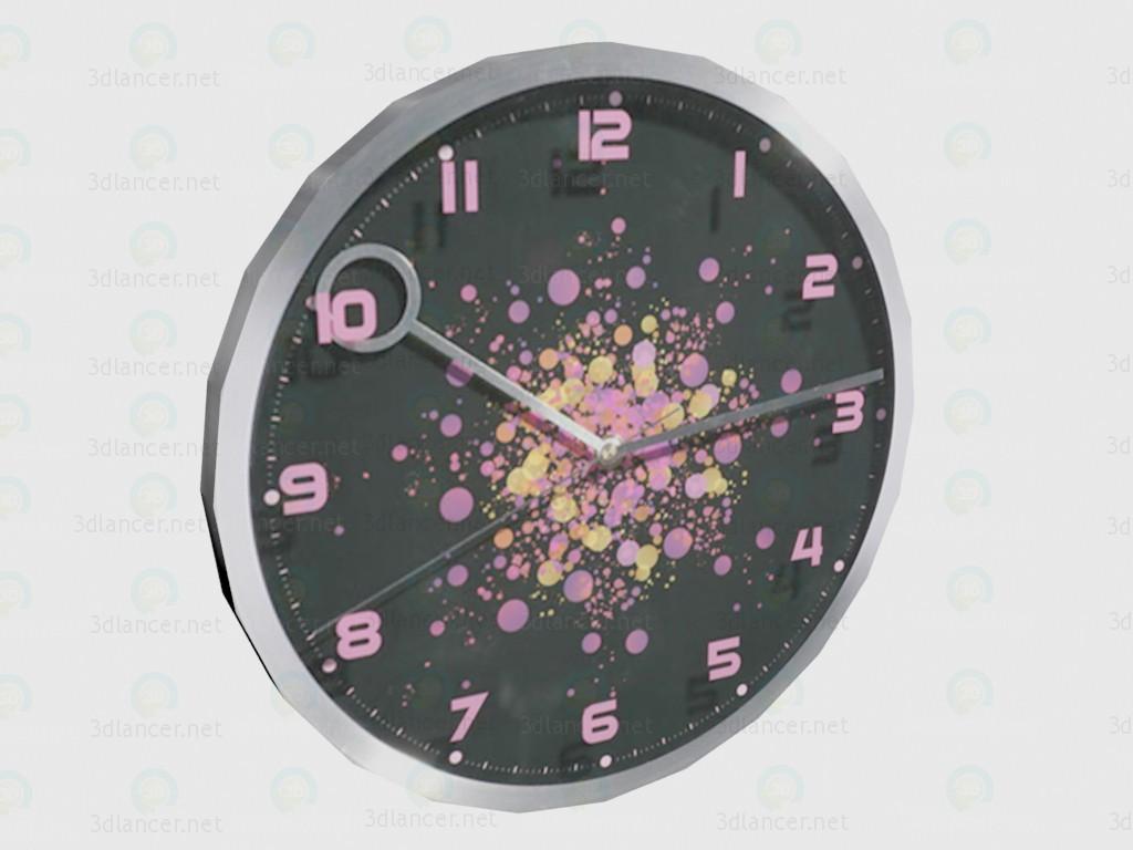 3d моделирование Часы Pinky модель скачать бесплатно