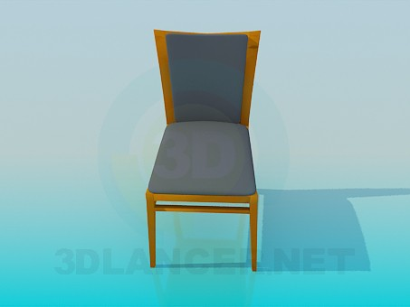 modelo 3D Silla suave - escuchar
