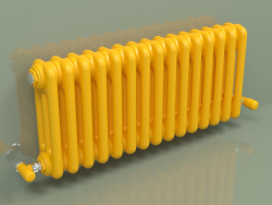 Радиатор TESI 3 (H 300 15EL, Melon yellow - RAL 1028)