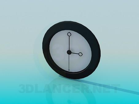descarga gratuita de 3D modelado modelo Reloj de pared